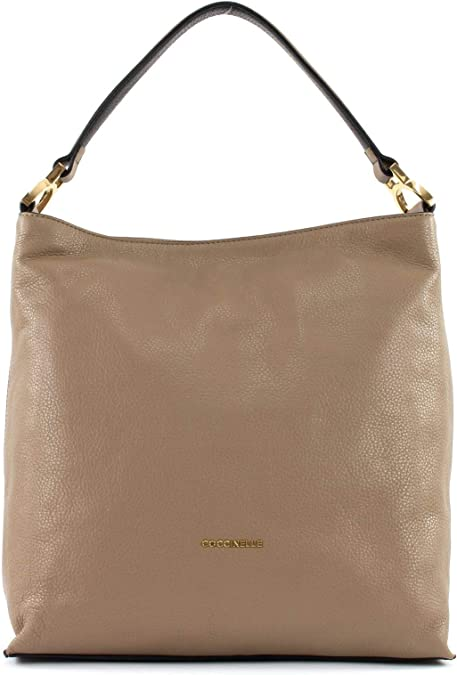 Coccinelle Arlettis Hobo Bag Taupe: : Schuhe