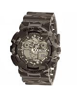 G-Shock Men's GA-100 Camouflage Watch, Grey, One Size