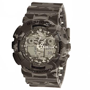 d8814007a35 Image Unavailable. Image not available for. Color  Casio G-Shock Men s GA-100  Camouflage ...
