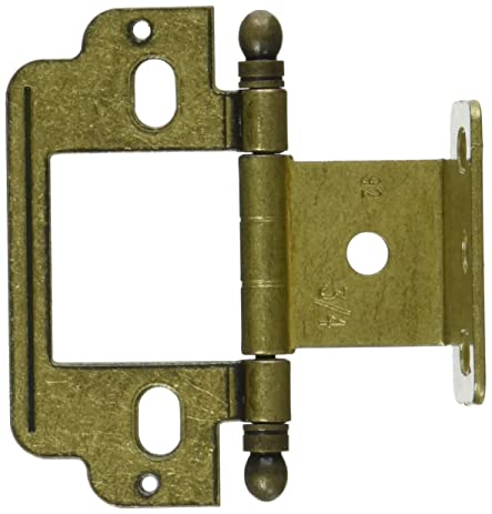 Amerock PK3180TB-BB Ball Tip Cabinet Hinge  sc 1 st  Amazon.com & Amerock PK3180TB-BB Ball Tip Cabinet Hinge - Cabinet And Furniture ...