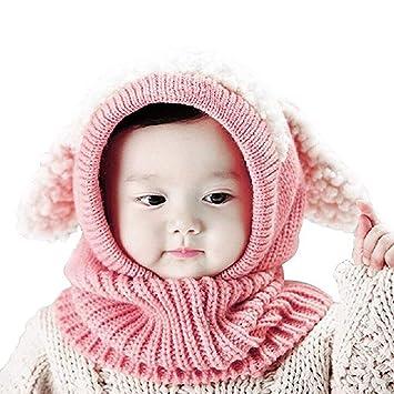 Hangaga Invierno de Lana para niños Bebé Chal Chal Abrigos Gorro Coreano Cachorro de una Pieza