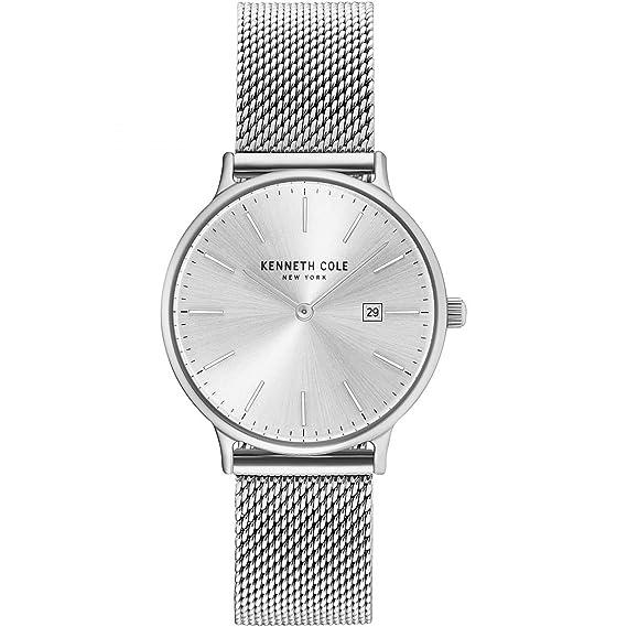 Kenneth Cole Reloj Analógico para Mujer de Cuarzo con Correa en Acero Inoxidable KC15057007: Amazon.es: Relojes