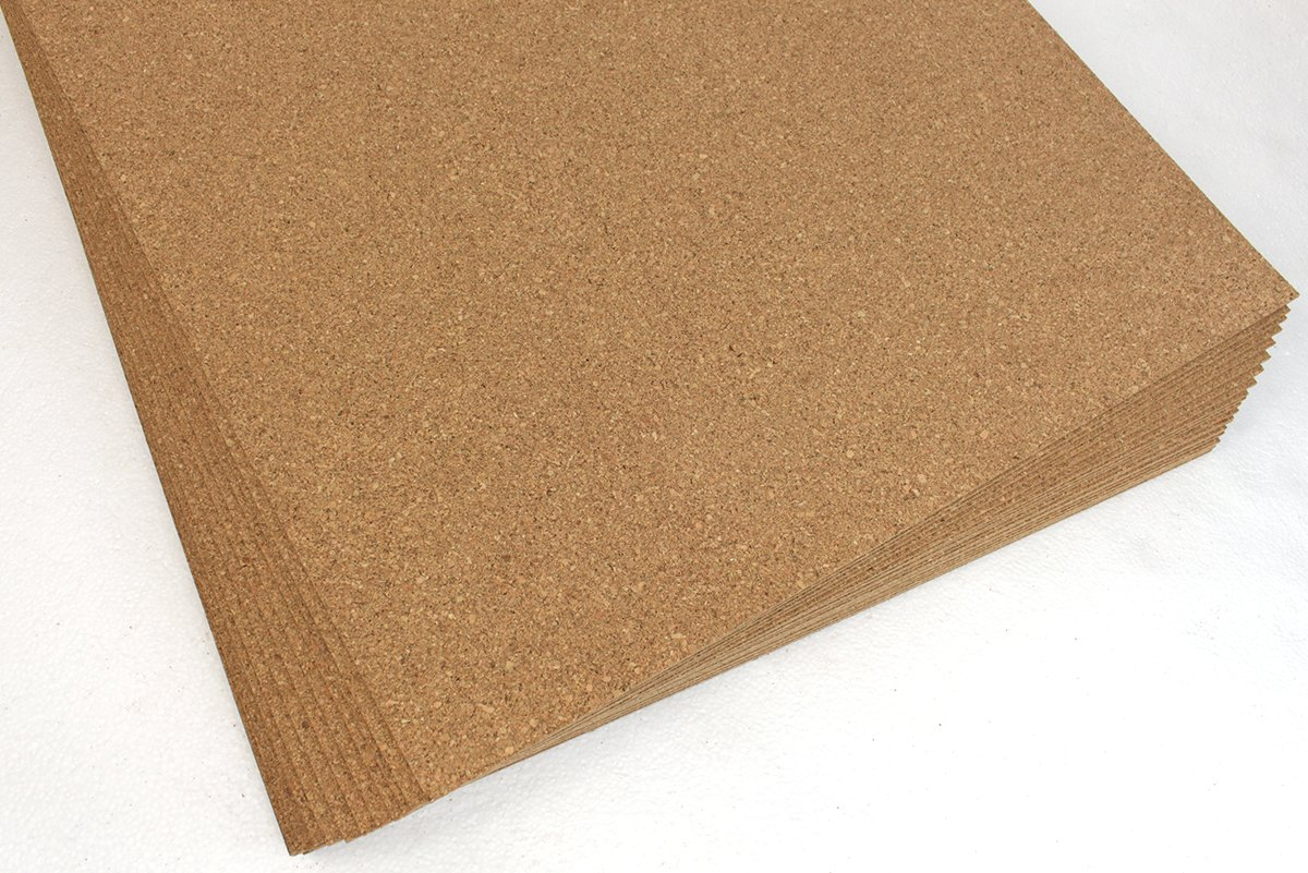 Cork Underlayment Portugal Made 3mm 1/8Top Density 200-220kg/m3 150sq.ft Forna