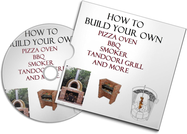 Build A Pizza horno de leña para barbacoa al aire libre, horno de piedra y ladrillo para quemar ladrillos