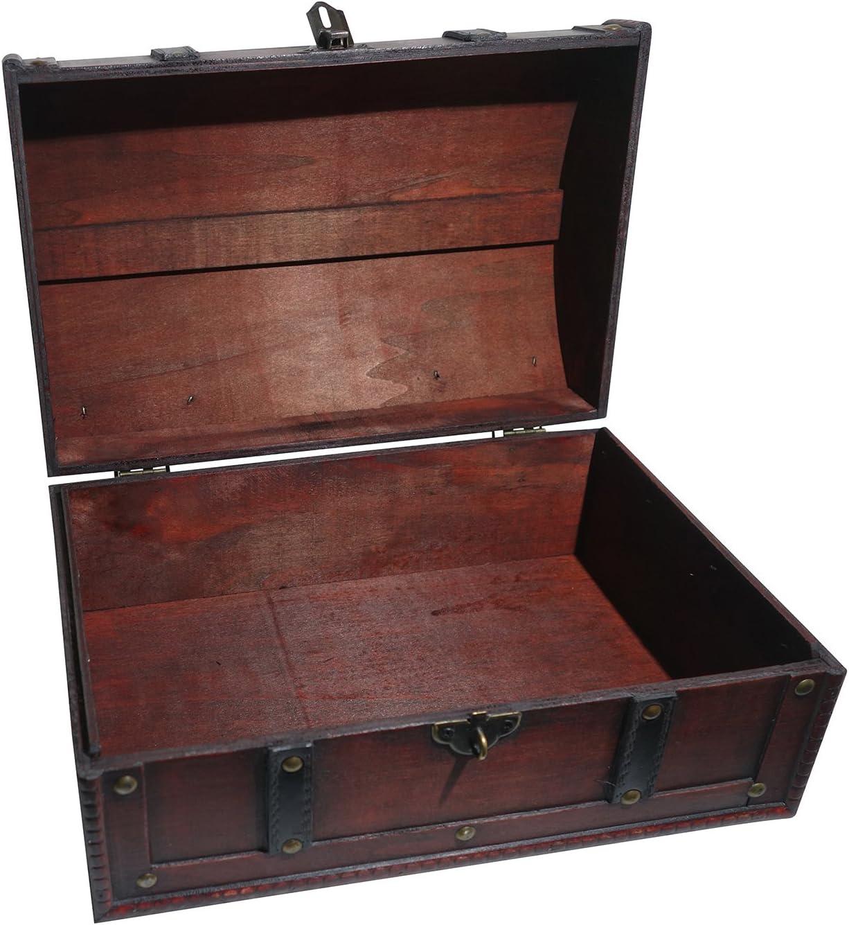 Pirates trésor boîte coffre à trésor en métal verrouillable tirelire pirate Fête