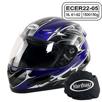 Integralhelm Helm Motorradhelm RALLOX 708 schwarz matt S M L XL Gr/ö/ße M