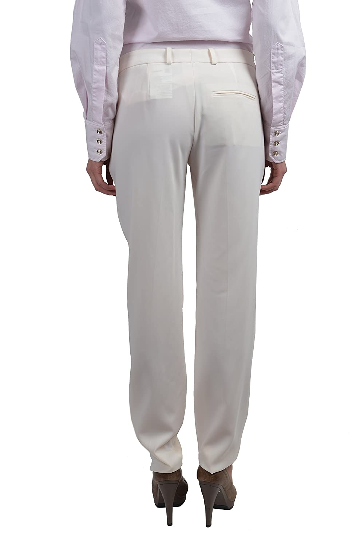 "Hugo Boss ""Harile-3"" Women's Cream Casual Pants US 2 IT 38"