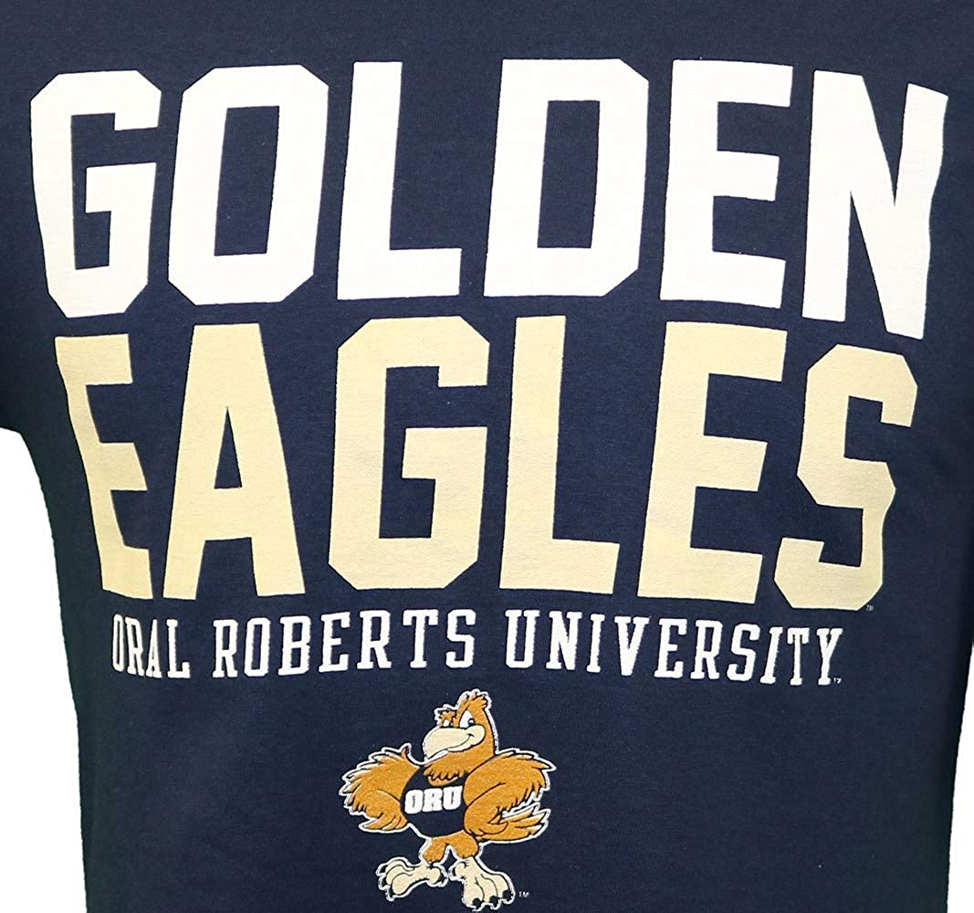RussellApparel NCAA Oral Roberts University Mens Cotton Crew Neck Tee