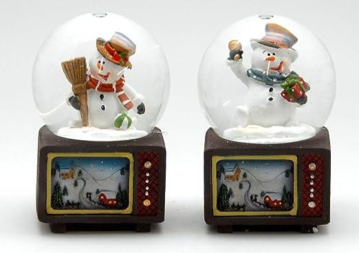 MINIUM-Collection 0324900540 Juego de 2 a Partir de Bola de Nieve ...