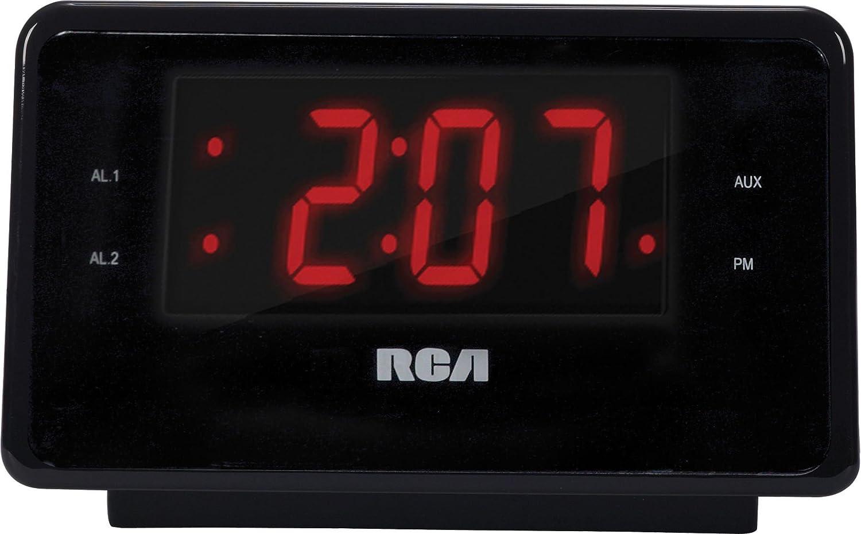 dual alarm clock ipod charging station with digital fm radio tuner ebay. Black Bedroom Furniture Sets. Home Design Ideas