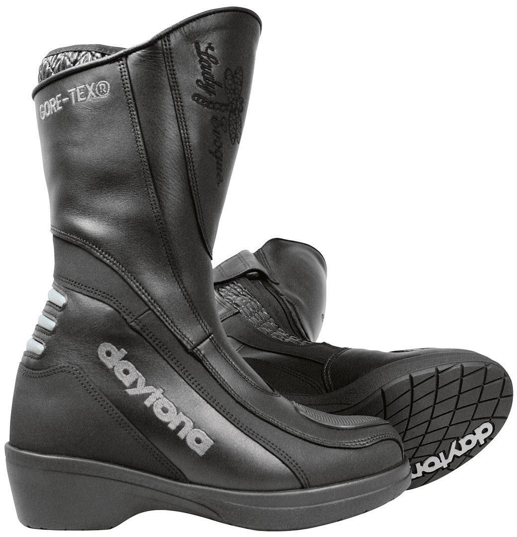 Daytona LADY EVOQUE GTX Damen Motorradstiefel Leder schwarz Gr/ö/ße 38