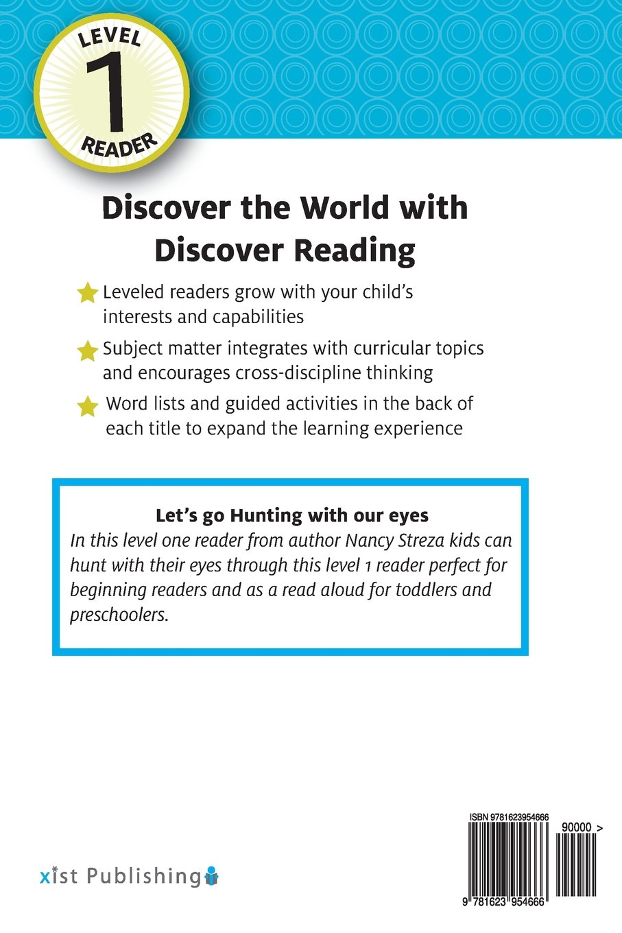 Lets go Hunting (With our Eyes): Level 1 Reader (Discover Reading)