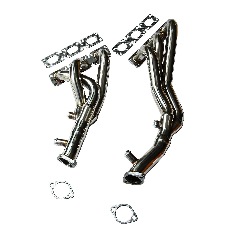 BLACKHORSE-Racing Performance Exhaust Manifold Headers for BMW E46 E39 Z3 323i 328i 2.5L 2.8L 3.0L L6 blackhorseracing