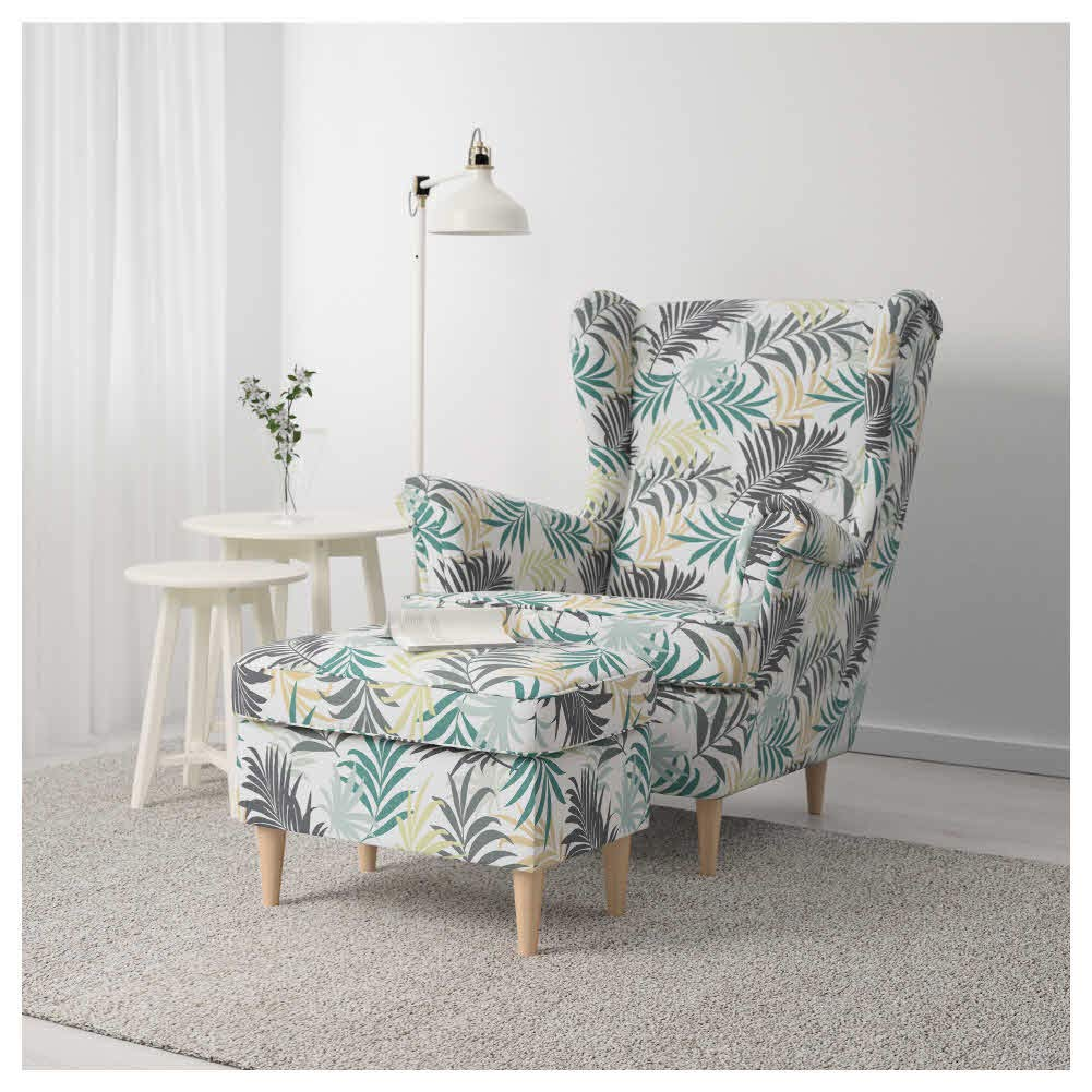 Amazon.com: IKEA ASIA STRANDMON Footstool Gillhov ...