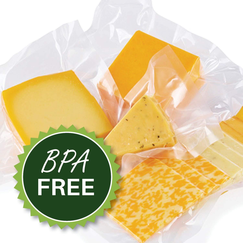 400 8'' X 12'' Quart FoodVacBags Vacuum Sealer Bags Professional Grade Foodsaver Type by FoodVacBags (Image #4)