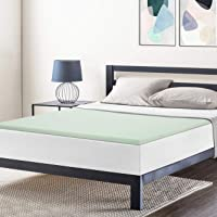 Best Price Mattress 1.5 Inch Ventilated Memory Foam Topper, Mattress Pad with Calming Green Tea Infusion, CertiPUR-US…