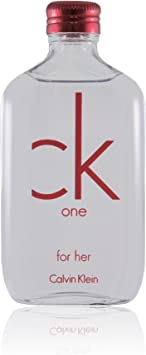 CALVIN KLEIN CK ONE RED EDITION HER Eau De Toilette vapo 100 ml mujer