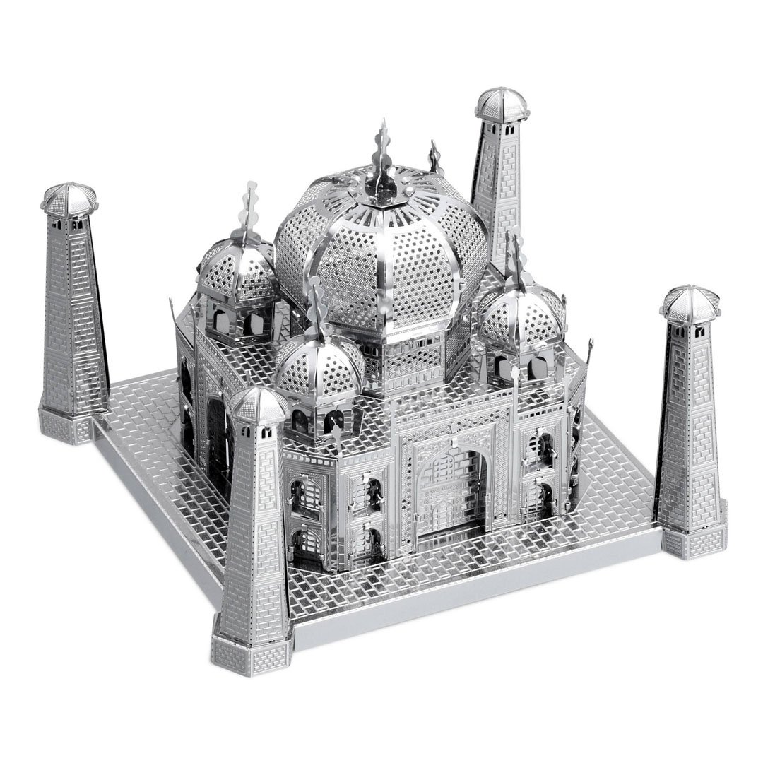 Metal Earth - 5061304 - Maquette 3D - Iconx - Taj Mahal - 6,35 x 8,89 x 8,89 cm - 2 pièces 89 cm - 2 pièces MetalEarth ICX004