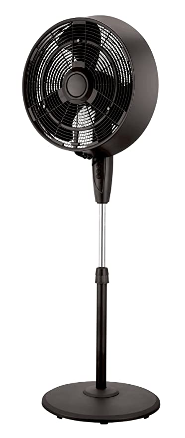 PELONIS 3-Speed Oscillating Misting Pedestal Fan – The Energy-Efficient Misting Fan