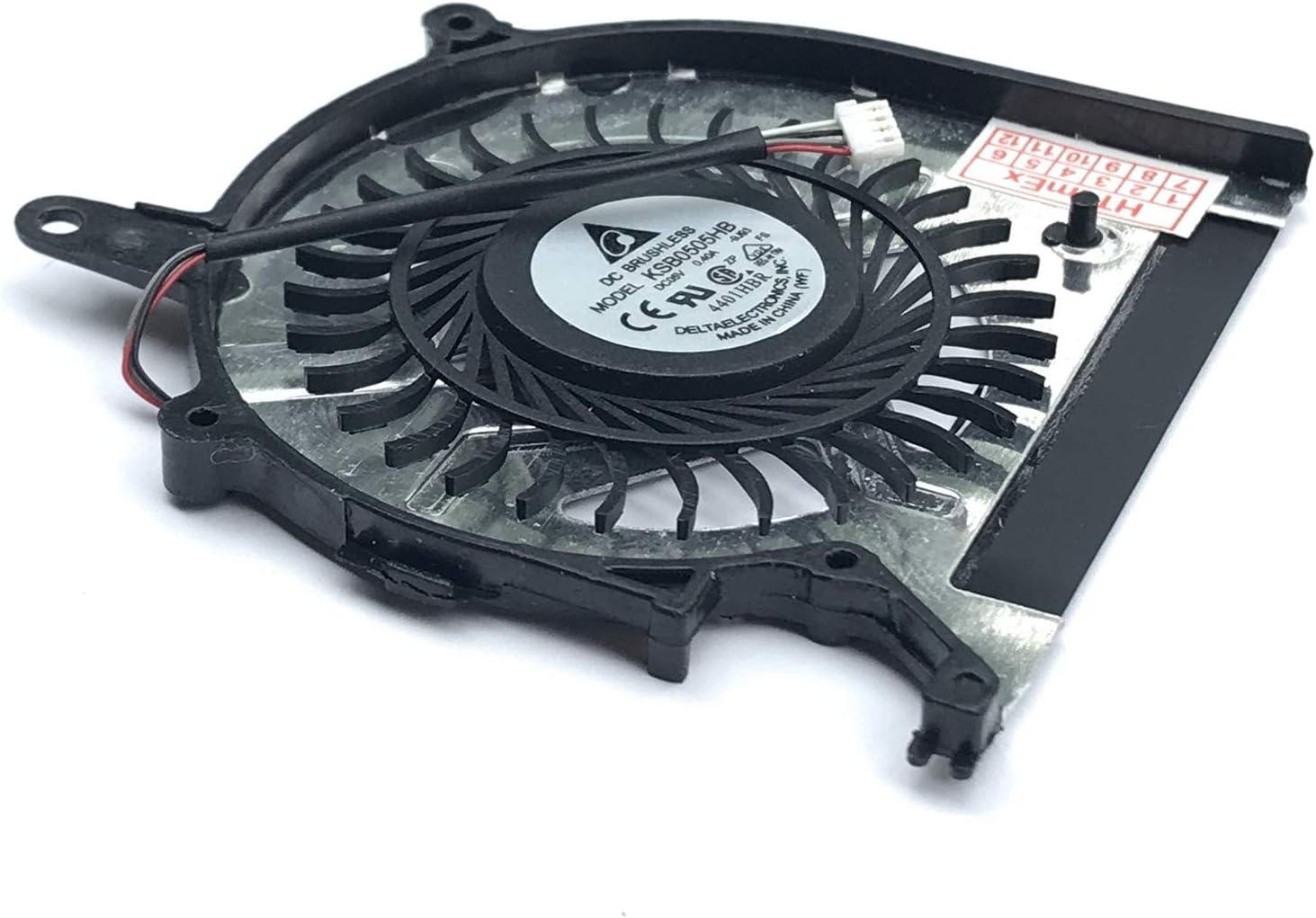 SVP1321X9EB SVP1321L1EBI.G4 SVP1321S1EB SVP1322V9E SVP1321Z9EB.G4 SVP1321Y9EB SVP132A2CM Fan Compatible for Sony Vaio SVP1321C5E2 SVP1321J1EB