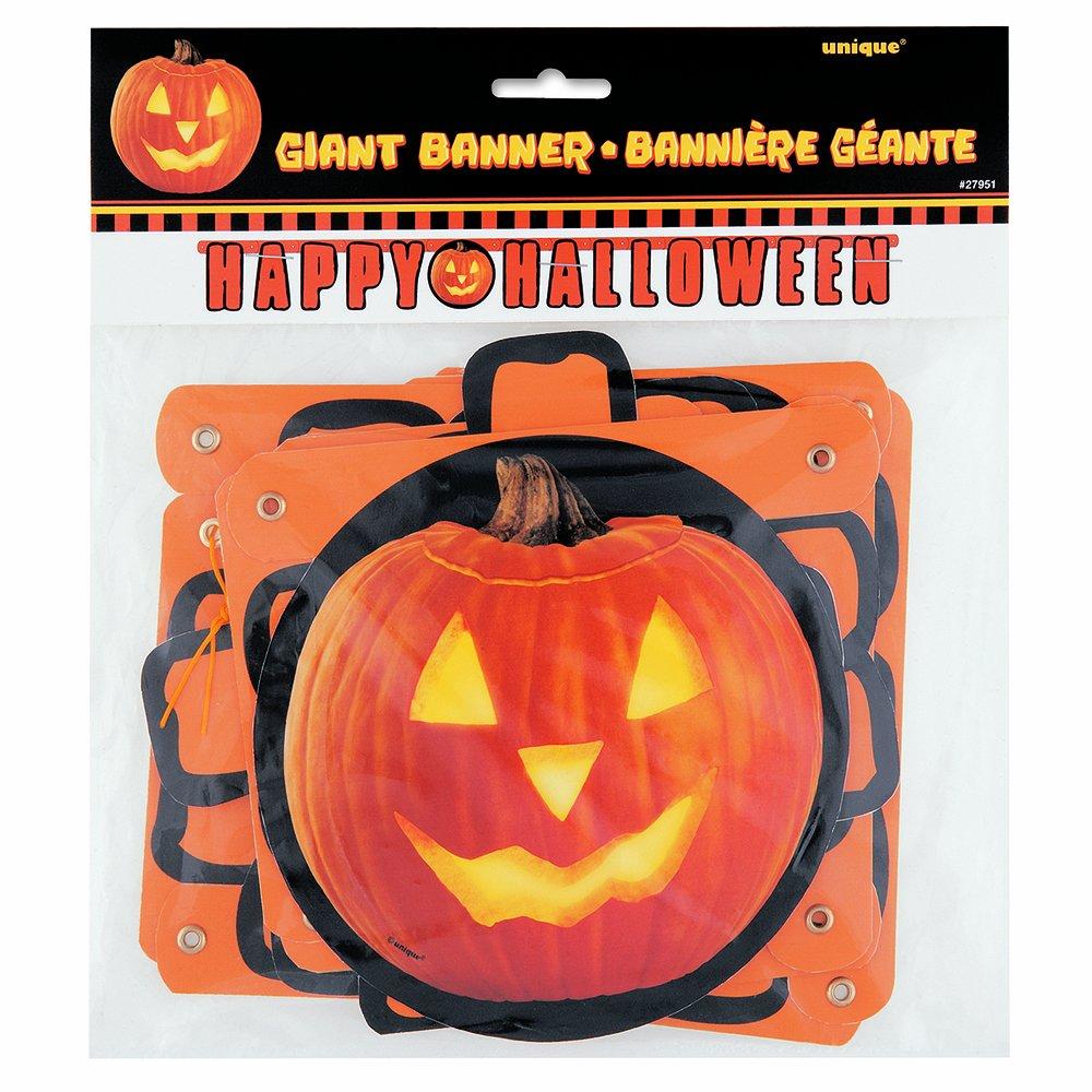 Pumpkin Glow Halloween Beverage Napkins, 16ct