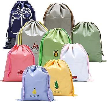 Waterproof Drawstring Sack Outdoor Camping Sleeping Bag Pouch Storage PE