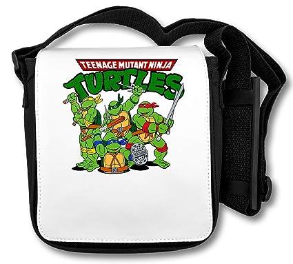 The Turtles Teenage Mutant Ninja Funny Logo Graphic Bolsa de ...