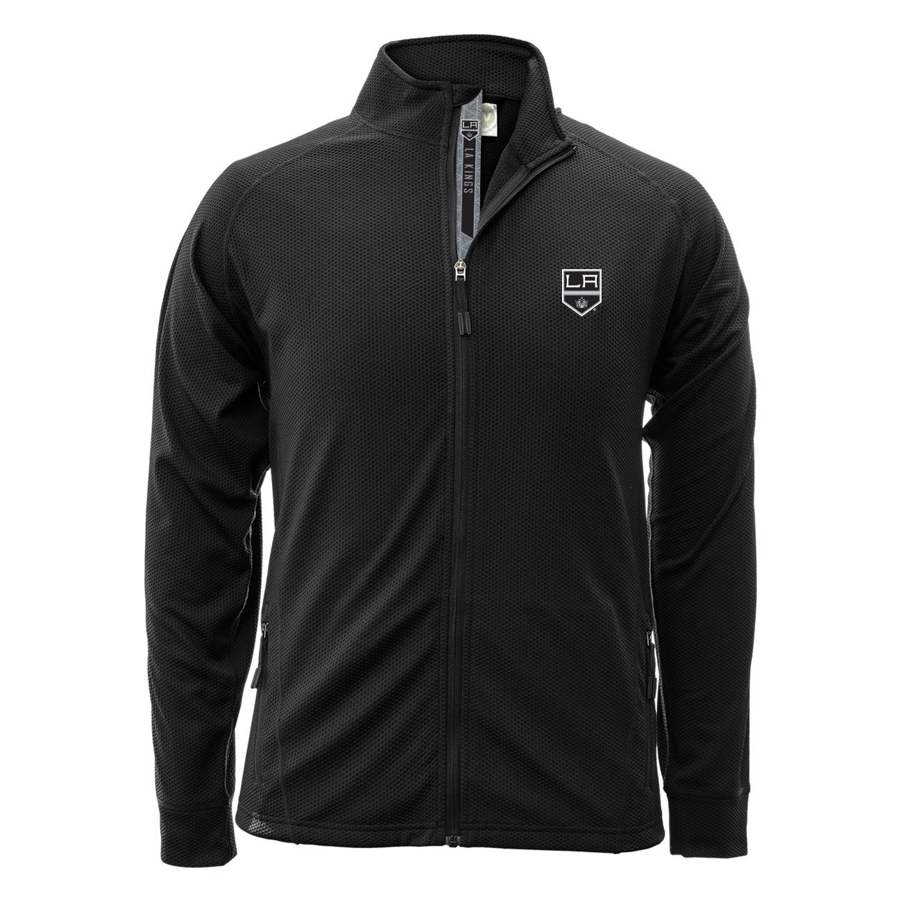 Levelwear Los Angeles Kings Revolution NHL Jacke Schwarz