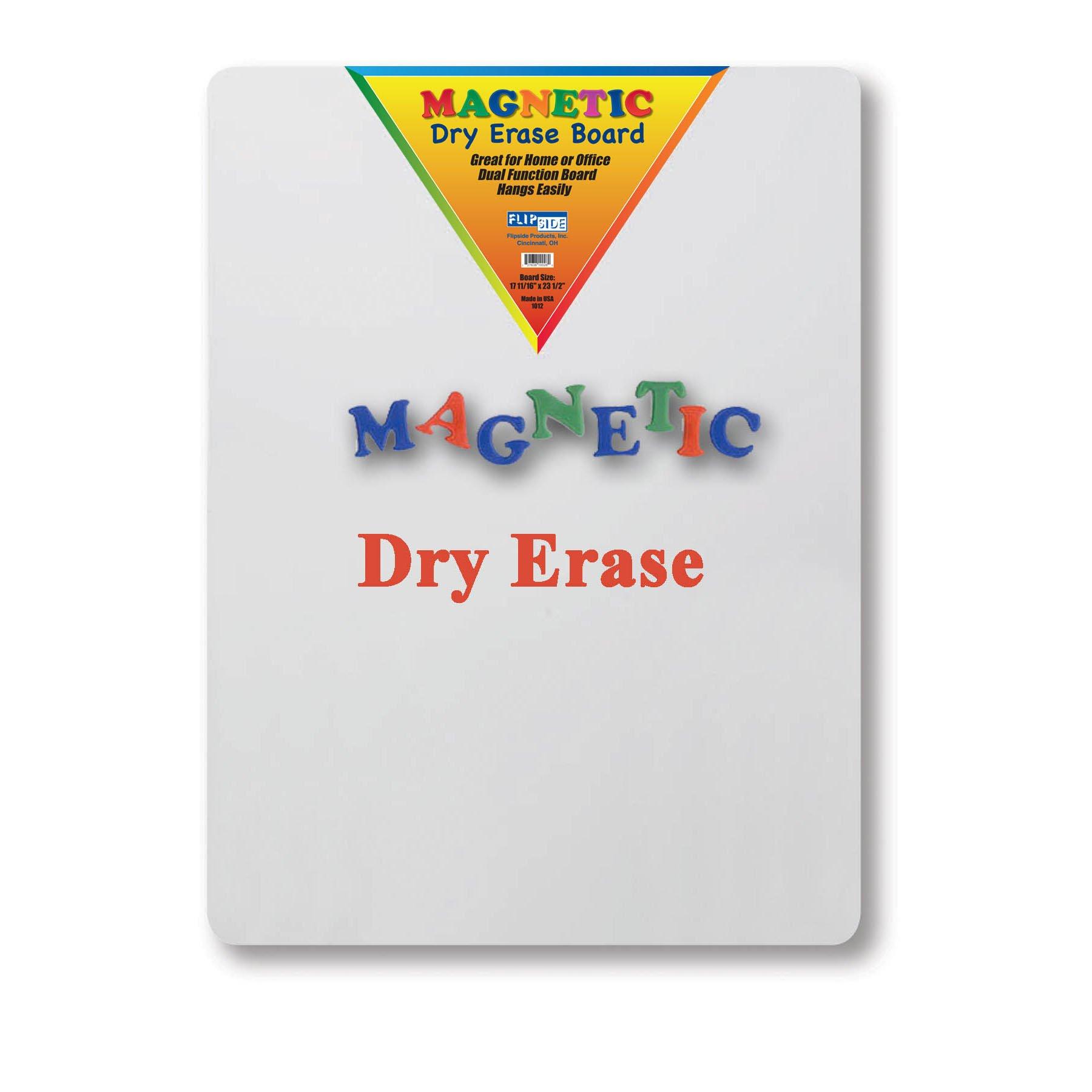 Flipside FLP10026 Magnetic Dry Erase Board, 17.5'' Width, 23.5'' Length