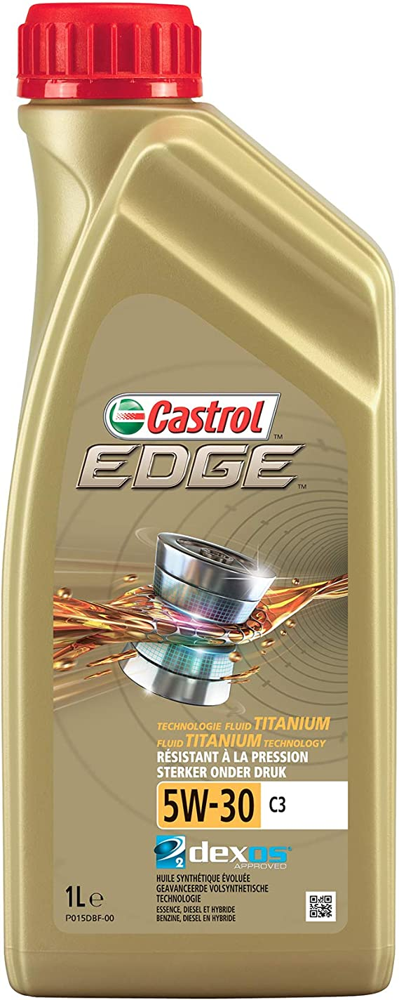 Castrol 1845034 157eef Motoröl Edge Ti 5w 30 C3 1 Liter Brown Auto