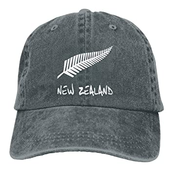 jinhua19 Gorras béisbol New Zealand Unisex Cotton Denim Hat Washed Retro Dad Cap: Amazon.es: Deportes y aire libre