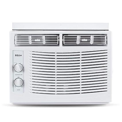 compact window air conditioner portable 5000 btu compact window air conditioner 150 sq ft home ac unit wmount 115 amazoncom