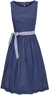 Berwin und Wolff Damen Trachten-Mode Kleid Antonia in Blau traditionell