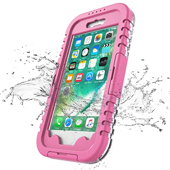 buy online 71db6 e7691 Amazon.com: iPhone 7/ iPhone 8 Case Waterproof, iThrough 4.7 ...