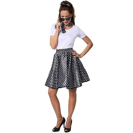 dressforfun 900467 - Disfraz de Mujer Rock and Roll Bebé, Conjunto ...