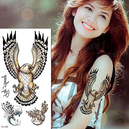 Handaxian 3pcs Tatuaje Pegatina niños Tatuaje a Largo Plazo Dragon ...