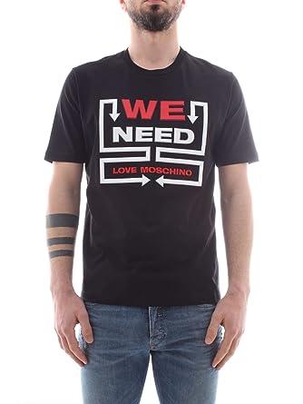 e1f1773eedd5 Love Moschino T-Shirt (M-295-Ts-56395) - S(DE)   S(IT)   S(EU ...