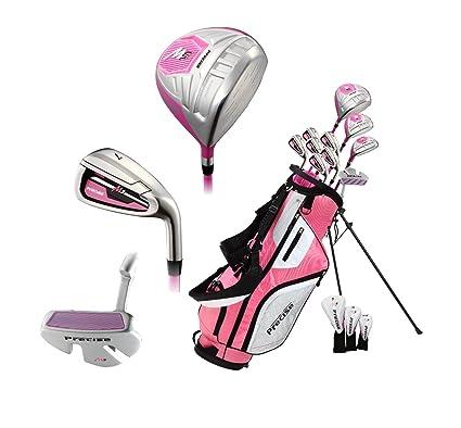 d15343f2e73c0 El Juego Completo De Palos De Golf Para Mujer Diestra Precise M5 Incluye  Driver ...