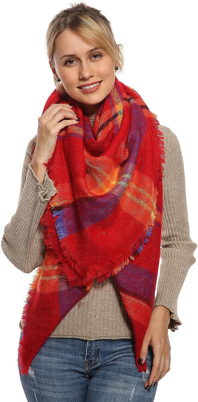 Stylish Plaid Blanket...