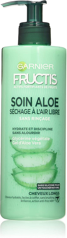 Garnier fructics Loción Tónica cuidado Aloe secado al aire libre secador – largos – 400 ml