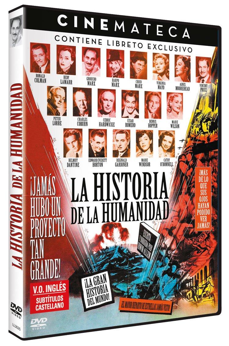 Cinemateca: Historia de la Humanidad The Story of Mankind 1957 DVD ...