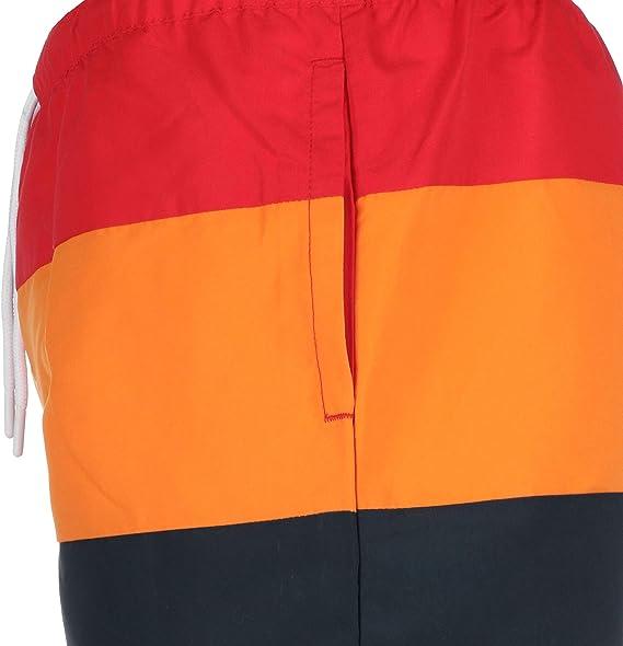 Ellesse Cielo Swim Shorts Red//orange//navy