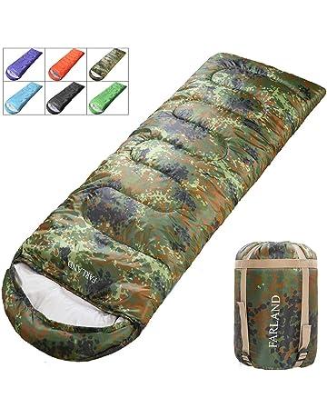c28db914ab FARLAND Sleeping Bags for Adults Teens - 20 Degrees ℉- 4 Season - Envelope  Mummy
