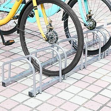 Aparcamiento para bicicleta soporte para aparcar 6 bicicletas ...