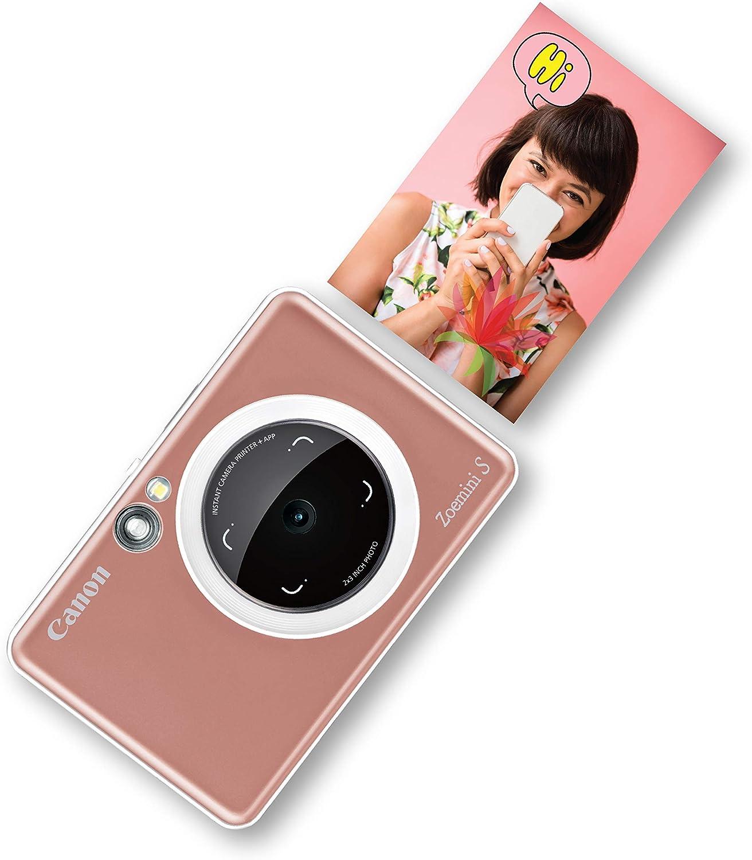 Canon Zoemini S, Cámara, Bluetooth, Tamaño Único, Rosa Oro