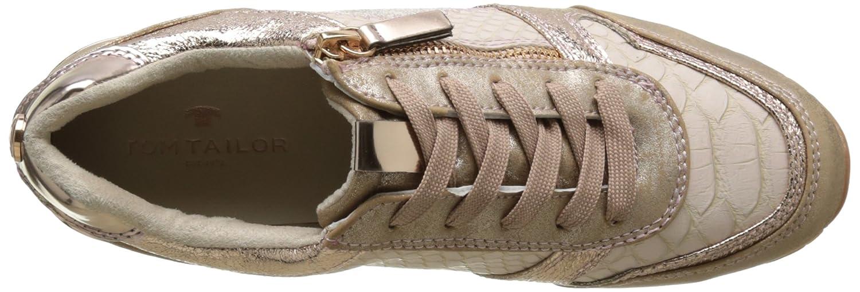 TOM TAILOR 2794105 Damen 2794105 TAILOR Sneaker Pink (Rose-gold) efdf0e
