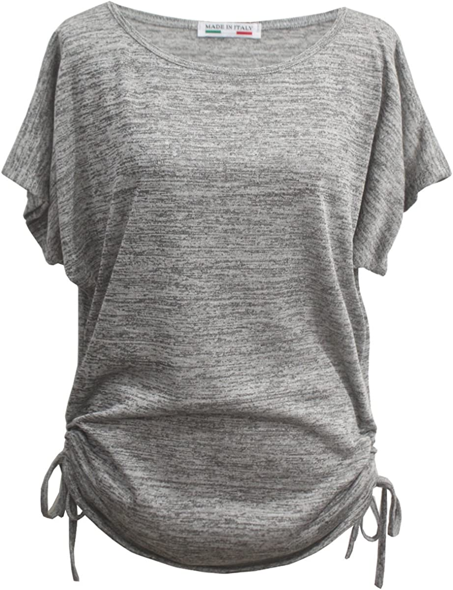T-Shirt//Top Loose Fit Donna Emma /& Giovanni