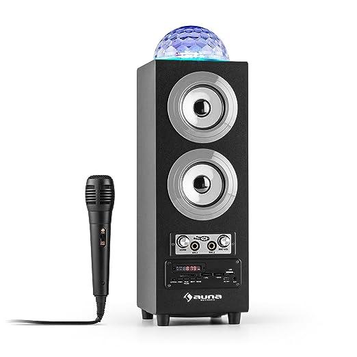 8 opinioni per auna DiscoStar altoparlante portatile speaker wireless (Bluetooth, USB, SD,