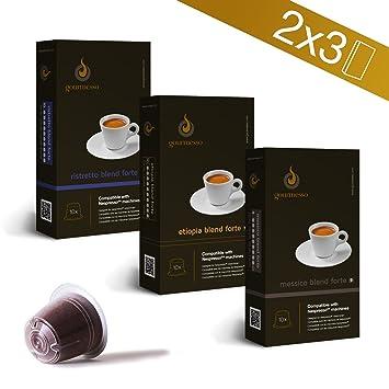 Cápsulas de Café Compatibles Nespresso® 0,26 & # x20AC;/cápsula Nespresso