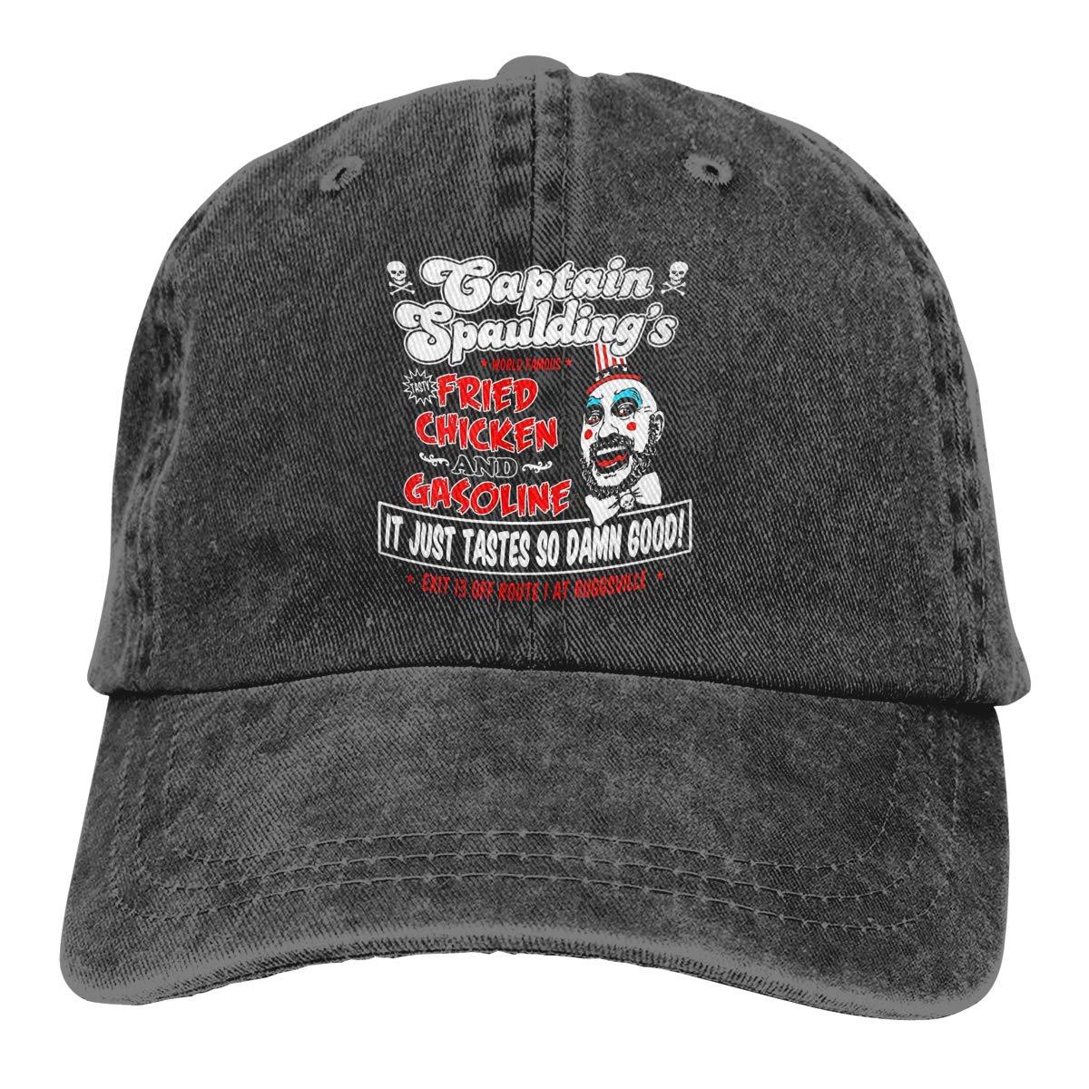 JERXANYD Captain Spaulding Adjustable Baseball Hat for Mens Caps
